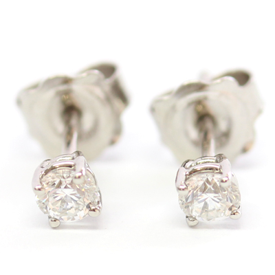 Platinum Diamond Set Earrings 1.jpg