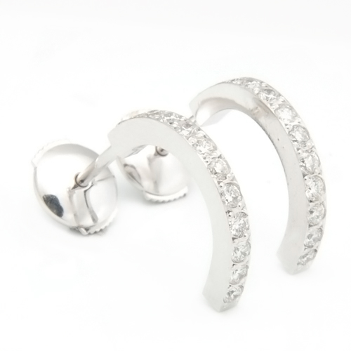 Platinum Half Hoop Diamond Earrings 3.jpg