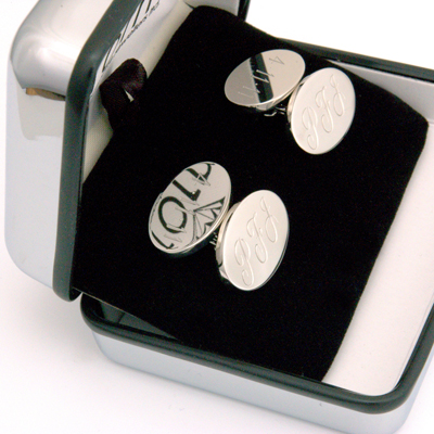 Platinum Engraved Cufflinks 2.jpg