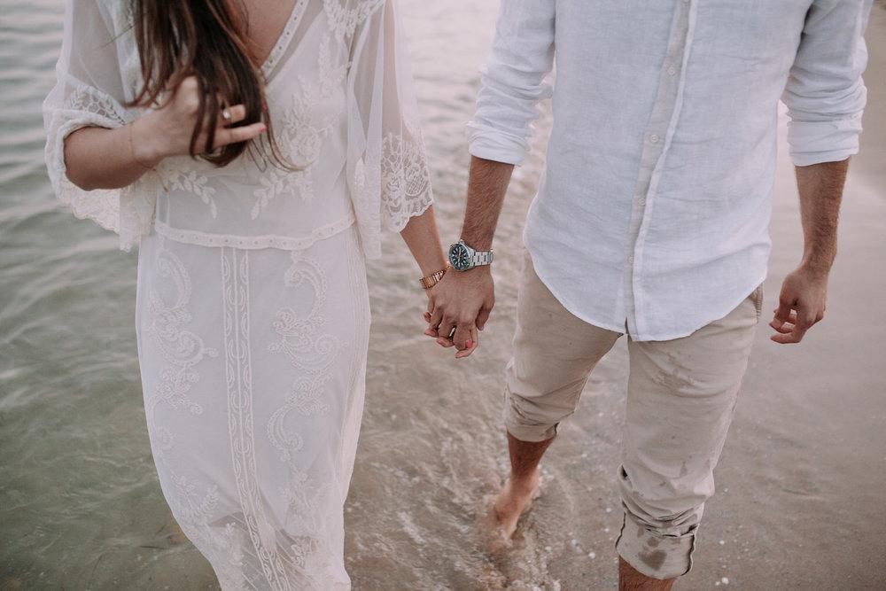 Preboda en la playa de Tarragona -