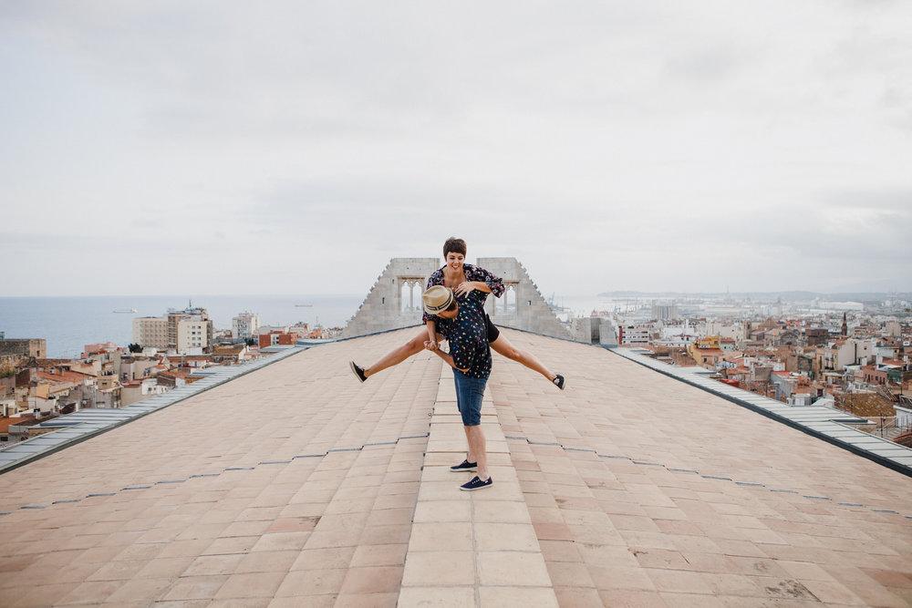 Swing en la catedral de Tarragona -