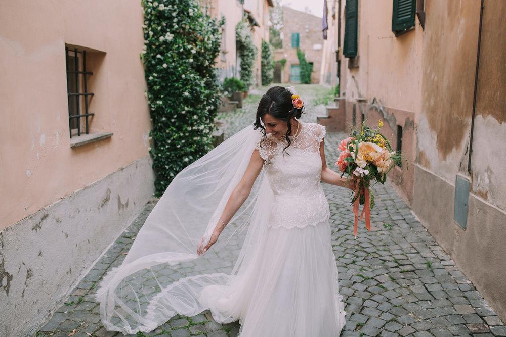 Boda en Tuscania, Italia -