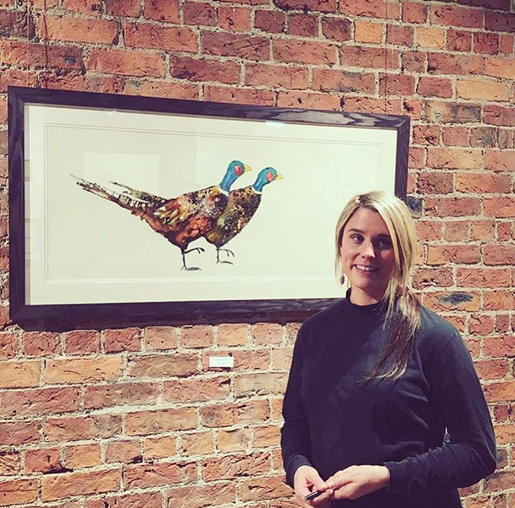 Exhibition opening at The Biscuit Factory, Newcastle