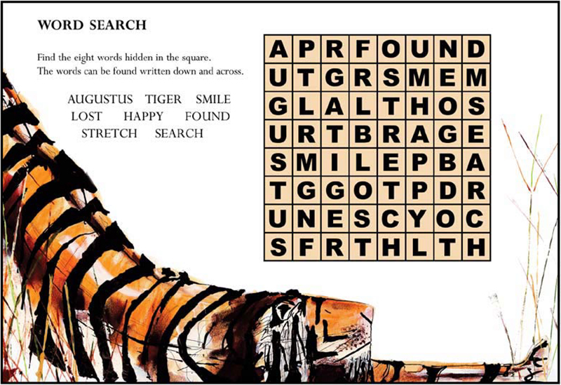 Augustus Word Search