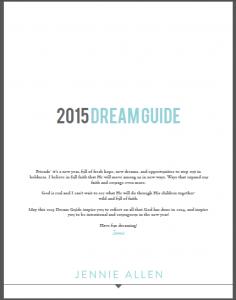 2015 Dream Guide
