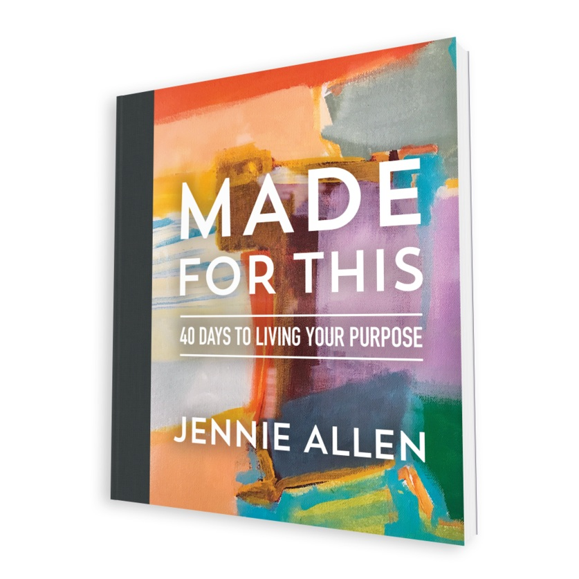 Made For This, Book, Jennie Allen, Author