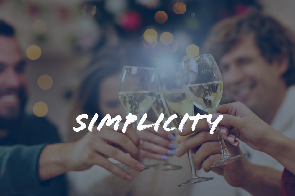 Be concise and clear. Subtract the unnecessary. -