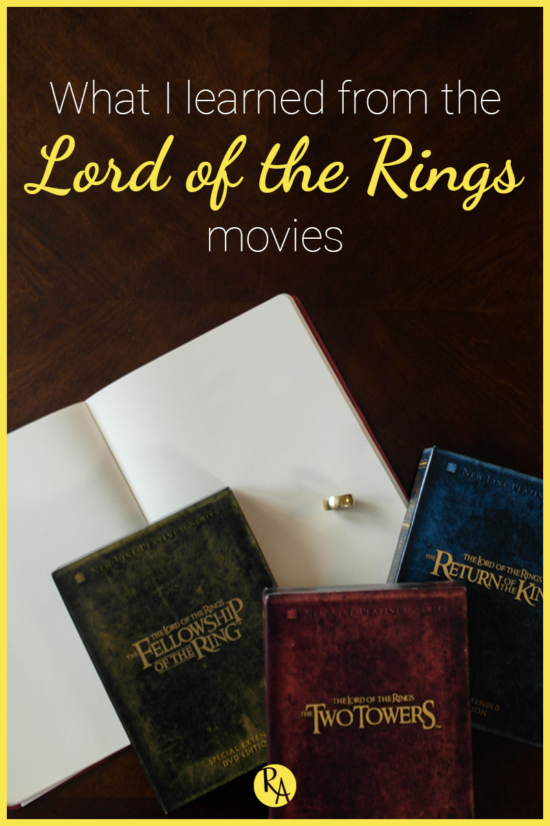 I love seeing the design behind a movie or TV show. It's probably one of my favorite things to learn about. So when my husband and I spent a few weeks rewatching the Lord of the Rings movies (extended editions, of course) and then all the hours of special features for each movie, I was riveted. The movies are very well made, but watching the 9-10 hours of special features for each movie was especially interesting (I highly recommend watching the special features if you haven't). They break down and discuss every aspect of the movie making process from storyboard to set building to sound design. So in today's post I wanted to break down the things I learned about design from the Lord of the Rings movies.