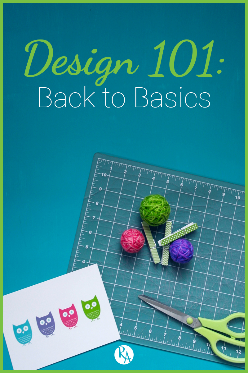 Welcome to Design 101. Over the next few weeks, I will be trying to cover as much of the design basics as I can. I will start the series off with the fundamental elements and principles of design. Whether you are a new to design or a seasoned designer, understanding the basics is crucial. If you are new, it creates a strong foundation for you to start building your design career. If you are seasoned, getting a refresher on the basics reminds you of what to keep in mind and you can always be improving. Researching this post still taught me a lot and I am excited to share it with you. So stick with me as we go over the theories, elements, and principles that design is built on. Pull up a comfy chair and let's get started!
