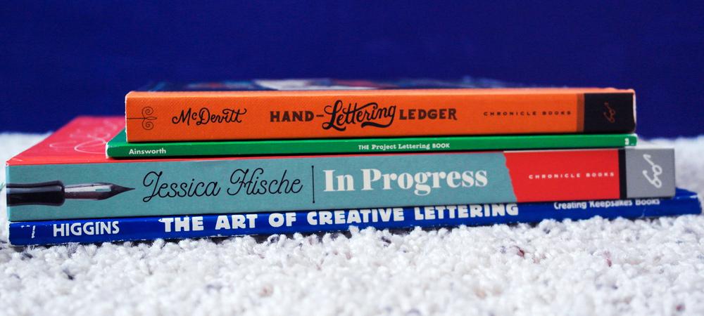 Handlettering books