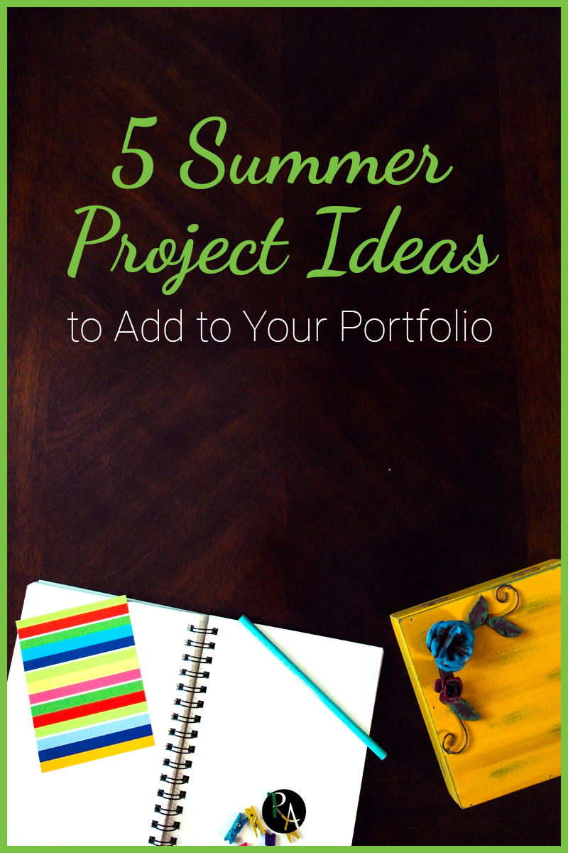 Up your design game this summer with these design project ideas that you can add to your portfolio.