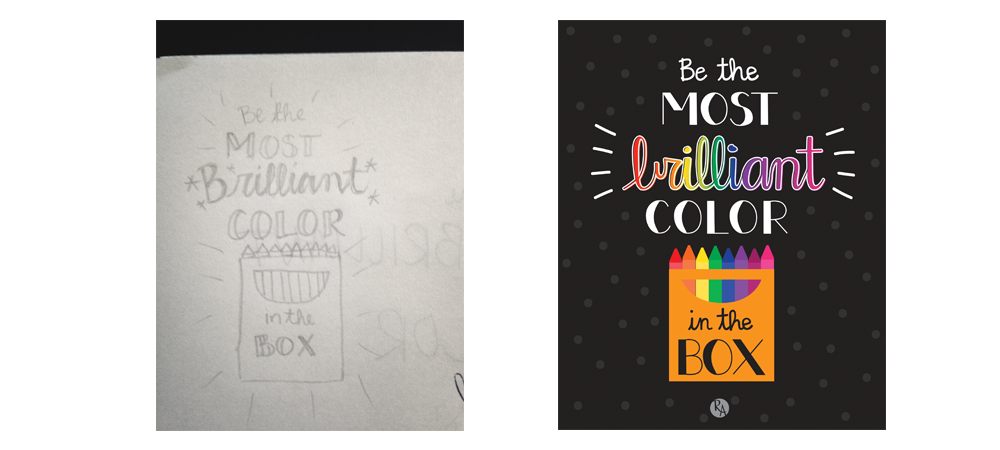 Printable Creations | Most Brilliant Color