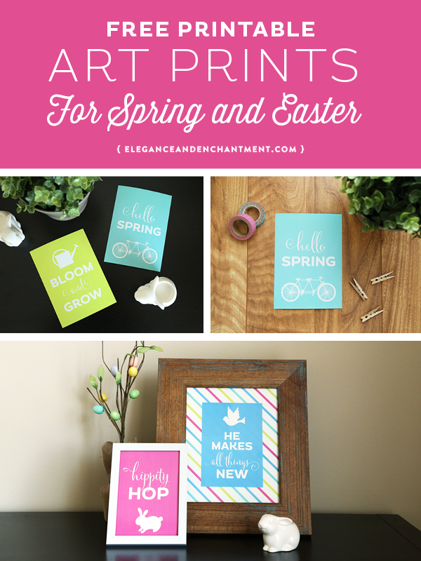 Easter printable from Elegance & Enchantment