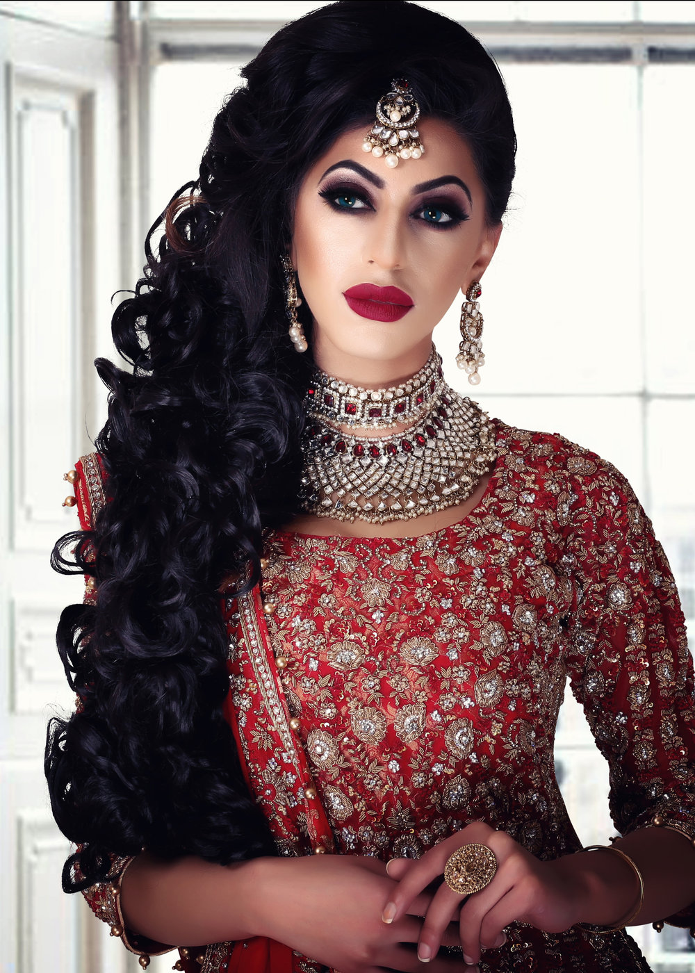 5 DAY - INTENSIVE BRIDAL MAKEUP & HAIR: - Summary:- 10 Makeup Looks- Day/Natural- Evening/Party- Registry/Walima- Classic Bridal- 3 Smokey Eye- Heavy Bridal- Media/ Photographic-10 Hairstyles- Traditional & Modern- Party, Registry, BridalFEES: £1395