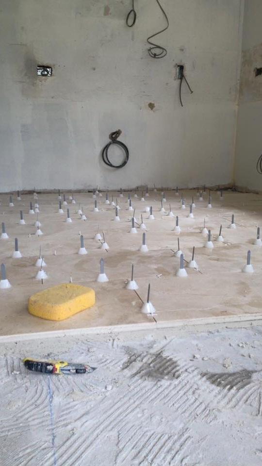 Bathroom Renovation Flooring