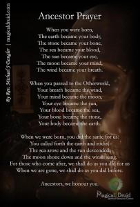 Ancestor Prayer