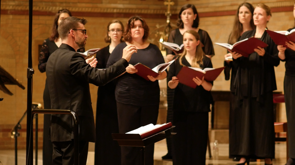 Saint Tikhon Choir COncert - Join us for the premiere performance of Benedict Sheehan's Liturgy of St. John Chrysostom, at St. Stephen's Cathedral in Wilkes-Barre, Pennsylvania.