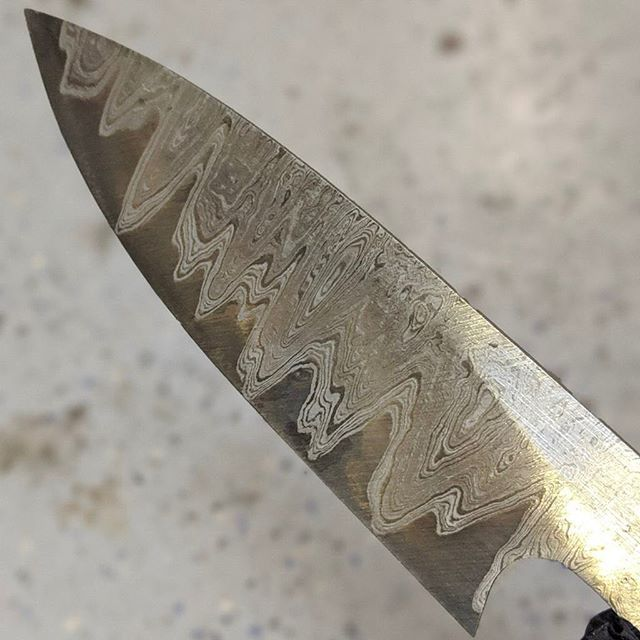 "@javosironworks is making a Damascus blend with our wrought iron and some O1 tool steel. ""That will be the cookies and the cream is a piece of solid O1."" An awesome work-in-progress, can't wait to see the finished product.  #oldglobe #wroughtiron #smithing #forge #knife #knives #knifemaking #knifeporn #Samurai #zanzibar #ironrange #blacksmith #industrial #madeinusa #industrialdesign #productdesign #ironore #minneapolis #ironrange #blacksmith"