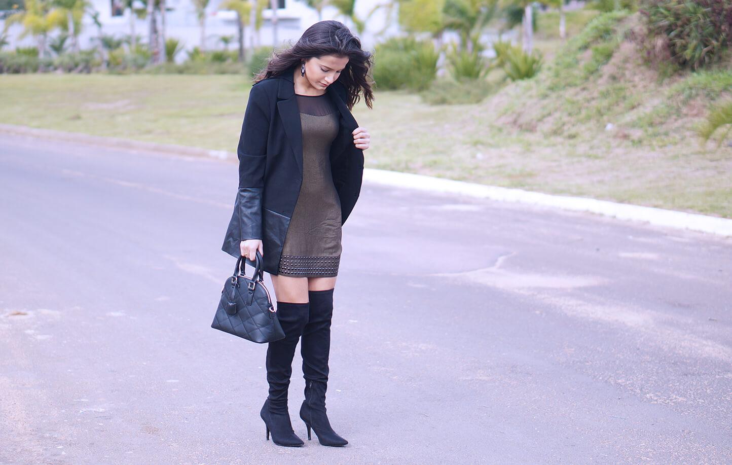 look-vestido-e-blazer
