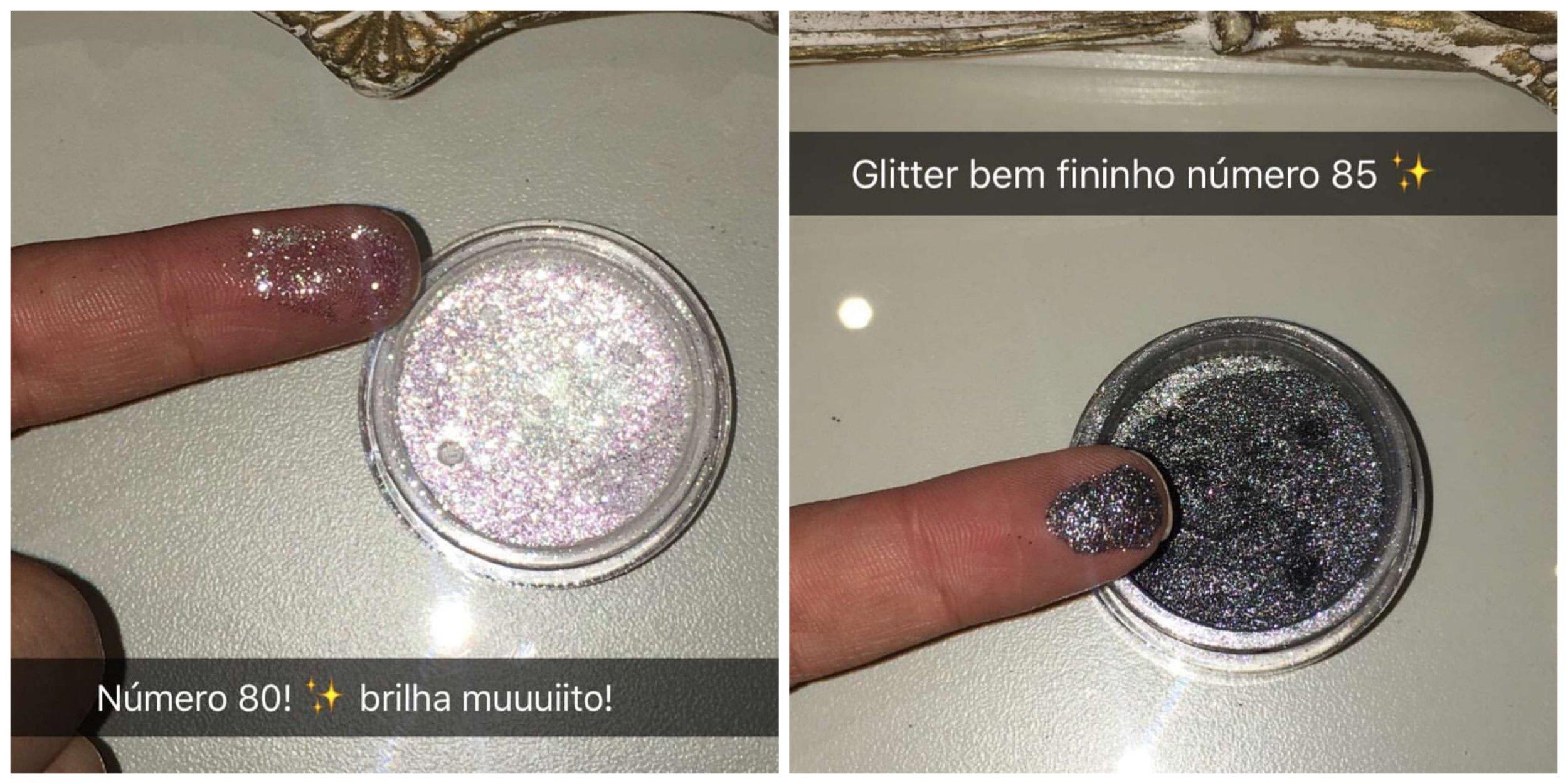 Coleção de glitters Nathalia Capelo