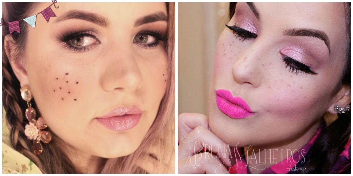 inspirações de maquiagens para festas juninas