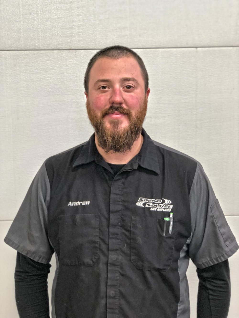 Andrew Green - Andrew is our shop manager. He has been in the automotive industry for over 10 years, with combined years from being a master mechanic to 12 volt expert!