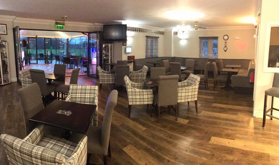 Refurbished Club Room - Open to members and non-members, our recently refurbished clubhouse and management team offer exceptional customer service and a relaxed atmosphere to our members, visitors, and non-golfers. Home-cooked food with a fantastic view of the course is available between 10.30am and 9pm.
