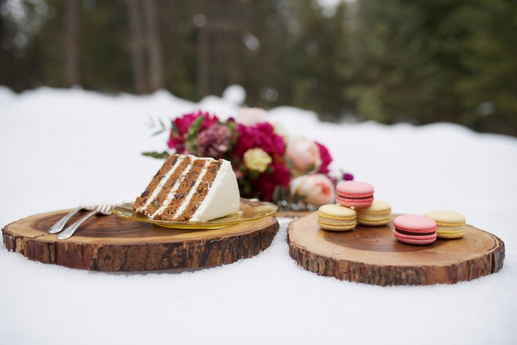 have your cake & eat it too! cake & macarons by fleur bakery
