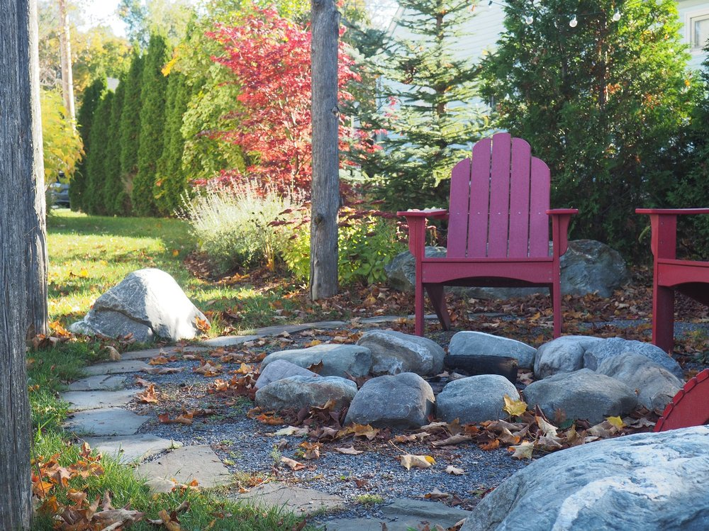 Fire pits and fire features in Vermont
