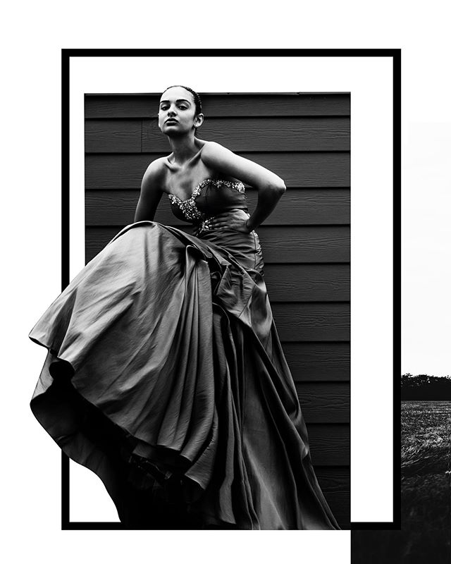 Still Concentric w/ @felicia.nunn Havent done this much black and white  processing in a while, harder than I remember. #romeoshagba #portrait #monochrome #edititorialdesign #fashion