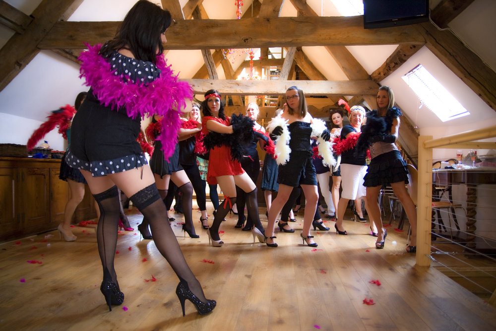 Burlesque dance class  - complete with a pre-dinner Burlesque performance