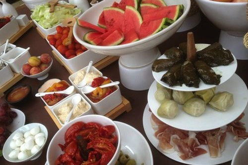 Catering & locally produced artisan food at Mill End by Bordello Banquets - buffet & tapas