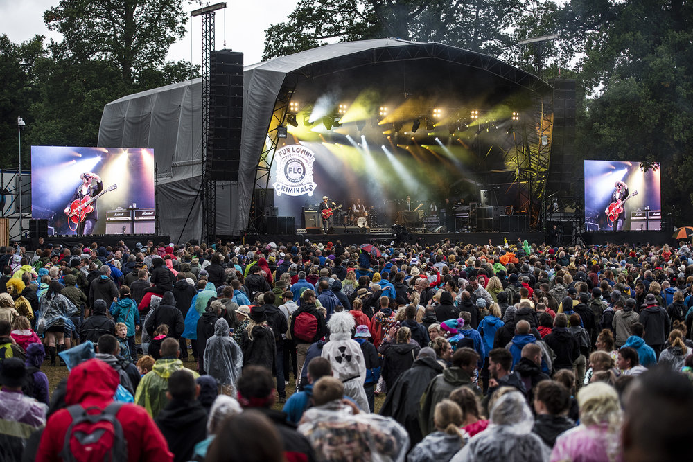kendal calling 2018 - @Lowther Deer Park, Lake District