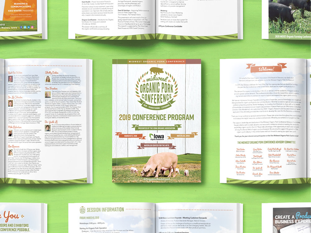 Midwest Organic Pork Conference — Event Marketing