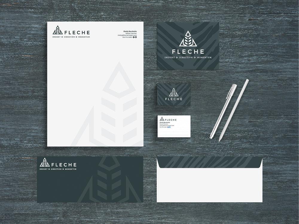 Fleche — Brand Identity Package