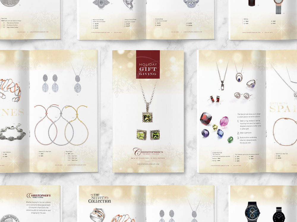 Christopher's Fine Jewelry — Christmas Campaign