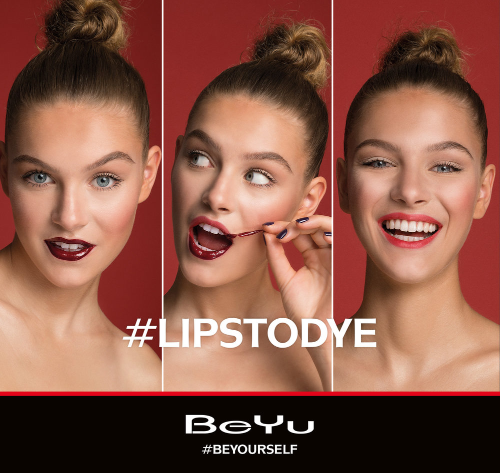 Andreas Ortner Milkcitystudio/Hair Artist Heiko Pallach/Luna Elisa Federowicz Visagistin/Make up Artist BeYu Cosmetics  Lips to dye