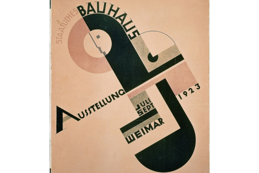 Joost Schmidt's Poster for the 1923 Bauhaus Exhibition in Weimar