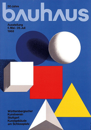 Bauhaus magazine from 1968 helped keep the style alive.