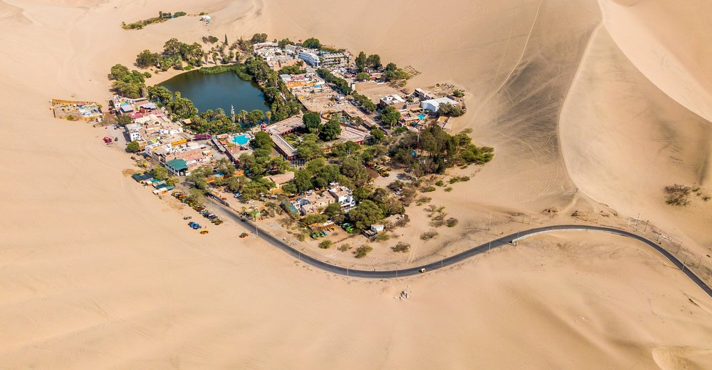 ICA - Just 5 hours south of lima, the desert oasis Huacachina is a perfect location to enjoy a thrilling adventure of dune buggy and sandboarding.Hop into a dune buggy with a professional driver, and drive up and down the amazing dunes. Then, enjoy extreme sandboarding down the dunes. This is a famous tour and is a must-do activity in Peru.