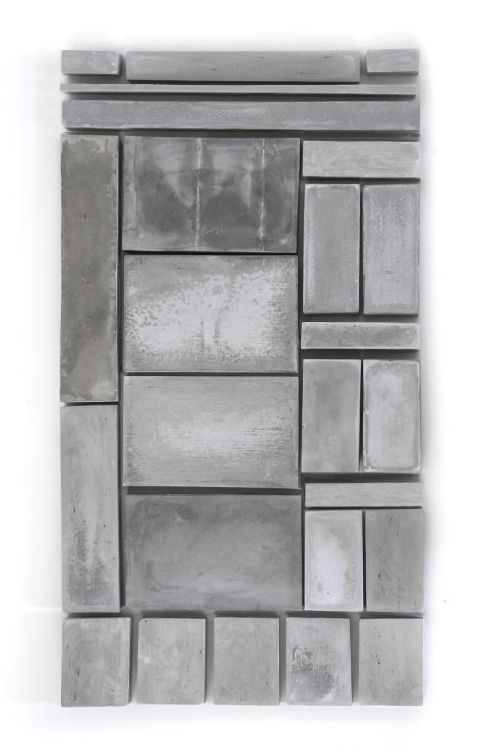 New York Times 11/07/2018  2018, cement, 12 in x 20 in