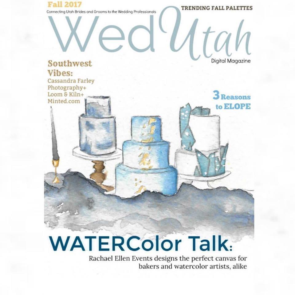 Wed Utah Magazine Cover