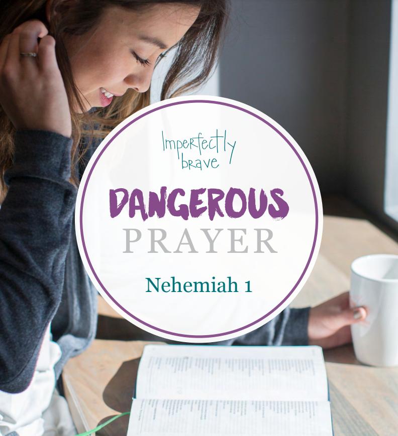 Christian Bible Study on Prayer Nehemiah