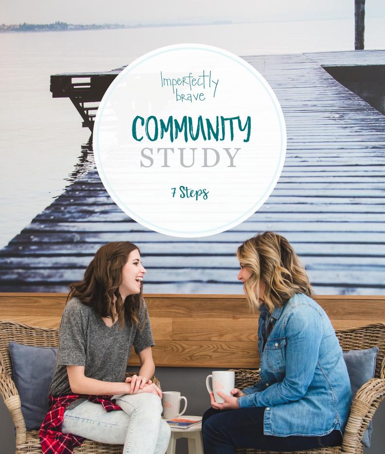 Christian building community bible study