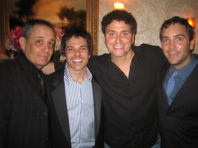 QAF Season 5 Premiere party, Los Angeles (l - r) Dan Lipman, Adam Newman, Mark Lieber, Scott