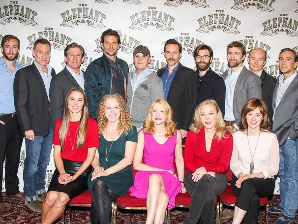TEM cast photo - Press Day at Sardi's