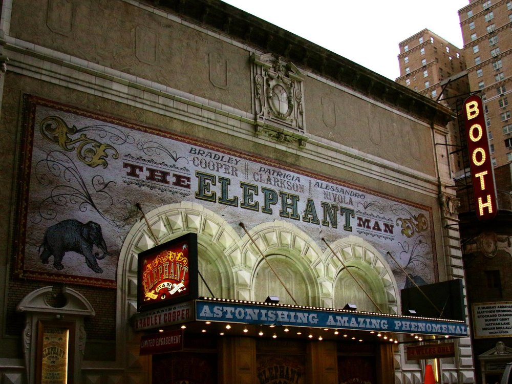 Exterior of The Booth Theatre