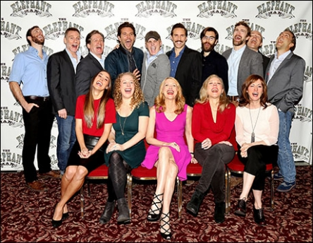 Fake Fun! TEM Cast Photo - Press Day