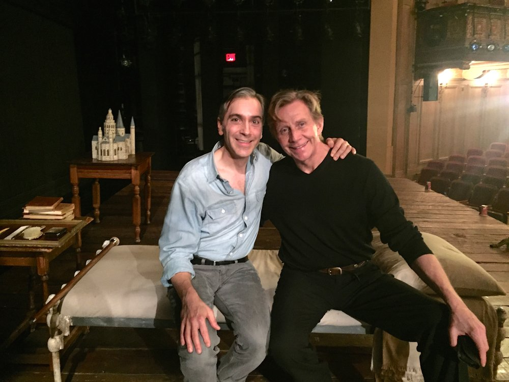 "Post-show visit with Jack Wetherall (""Uncle Vic"" from QAF)"
