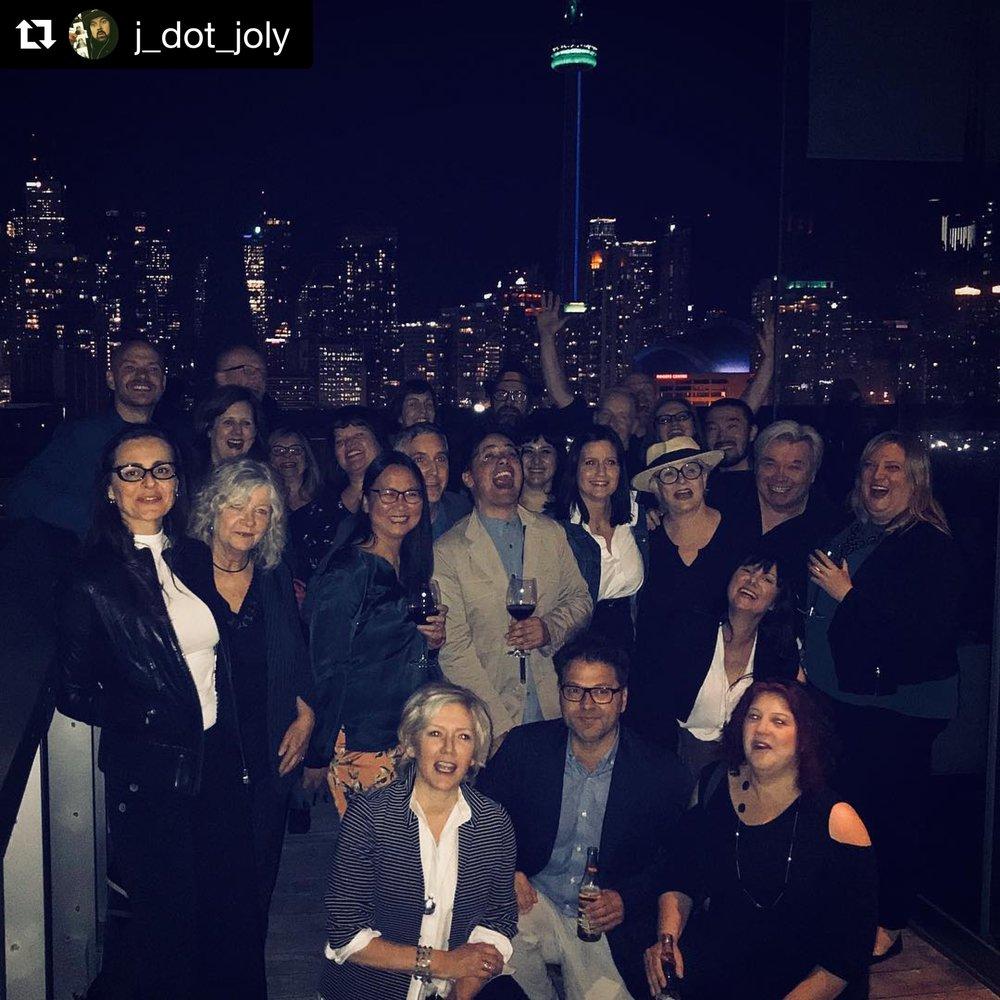Party w/ Toronto crew & cast of QAF, 5/18